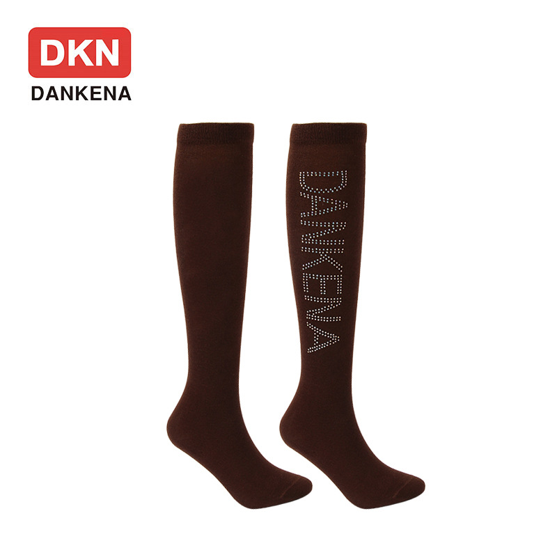 DANKENA Summer Students Solid Color Stockings Nursery School Socks Knee High Socks